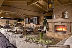 outdoor living room with fireplace luxury backyard luxury pools