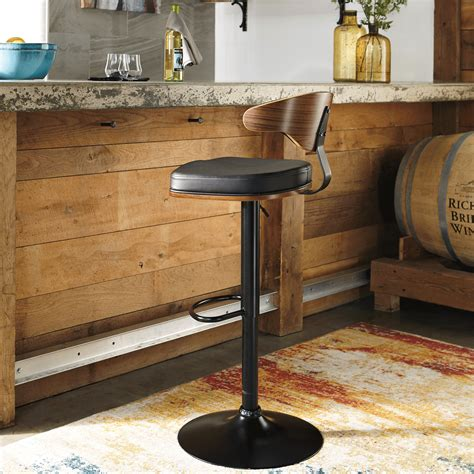 Bernie And Phyls Bar Stools by Contempo Swivel Barstool With Low Back Bernie