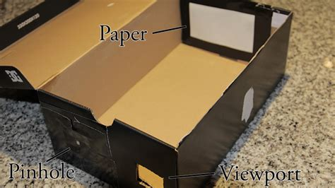 home made solar eclipse box how to view the 2015 solar eclipse