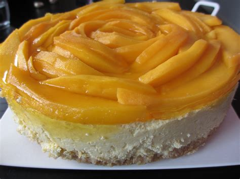 Mango Cheesecake chilipadi s kitchen mango cheesecake