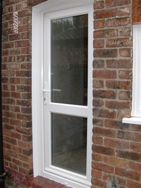 Backdoor Or Back Door by Upvc Doors