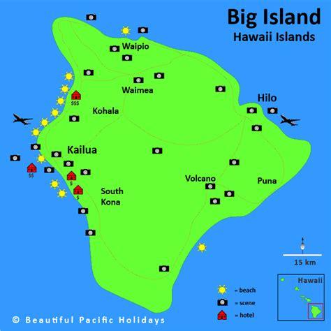 map of big island hawaii map of big island hawaii in the hawaiian islands