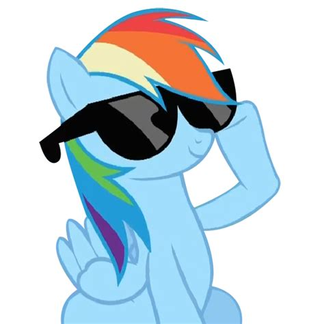 cool rainbow dash together with my little pony friendship is magic rainbow with her glasses rainbow dash photo 29420661