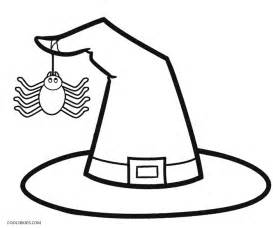 halloween witch hat printables festival collections
