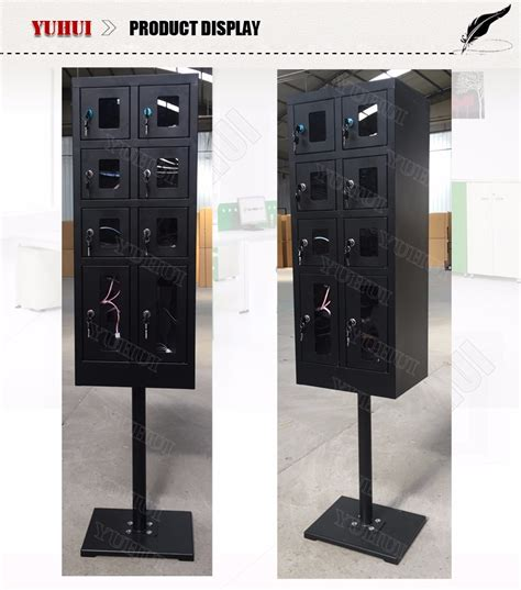 multiple phone charging station 8 doors charging kiosk multi cell phone charging station