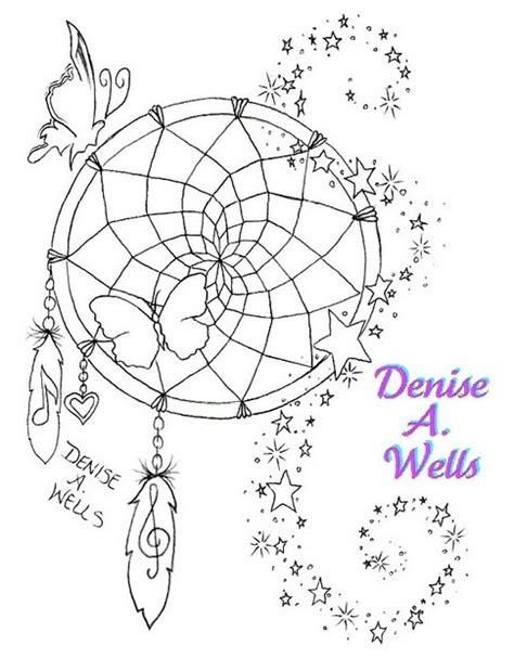 dreamcatcher tattoo template dreamcatcher tattoo design by denise a wells quot star