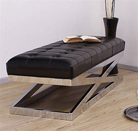 black x bench black leather x bench contemporary indoor benches by overstock com