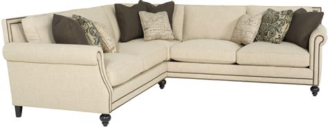 console loveseat sectional sofa bernhardt