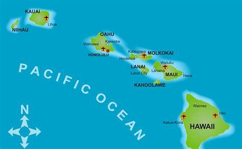 map of hawaii islands the hawaiian islands gogo travel