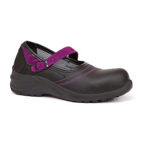 safety shoes for giasco violet microwash esd black ballerina safety