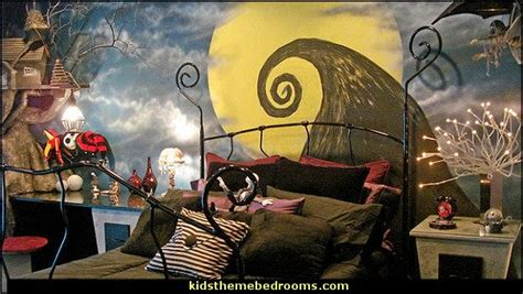nightmare before bedroom decorating theme bedrooms maries manor skellington
