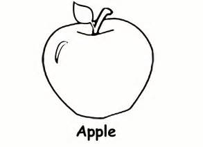 apple color sidther free printable preschool level coloring pages
