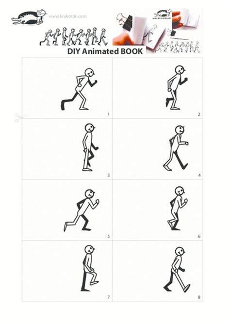 printable flip book template 18 best images about flipbook on pinterest cartoon