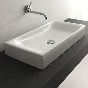 Cast Polymer Countertops by Cast Polymer Large Vessel Sink Cantrio Koncepts Vessel