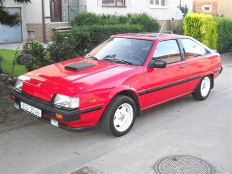 1987 mitsubishi cordia 1987 mitsubishi cordia 1 8 110 cui gasoline 100 kw 195 nm