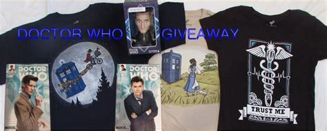 Doctors Giveaway - doctor who giveaway gbreviews