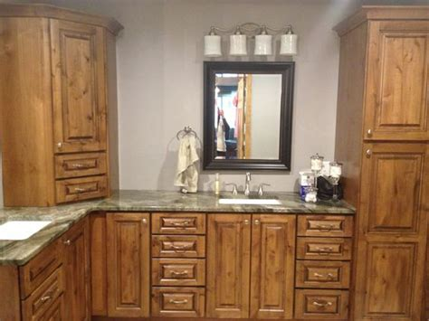 Knotty Alder Bathroom Vanity The World S Catalog Of Ideas