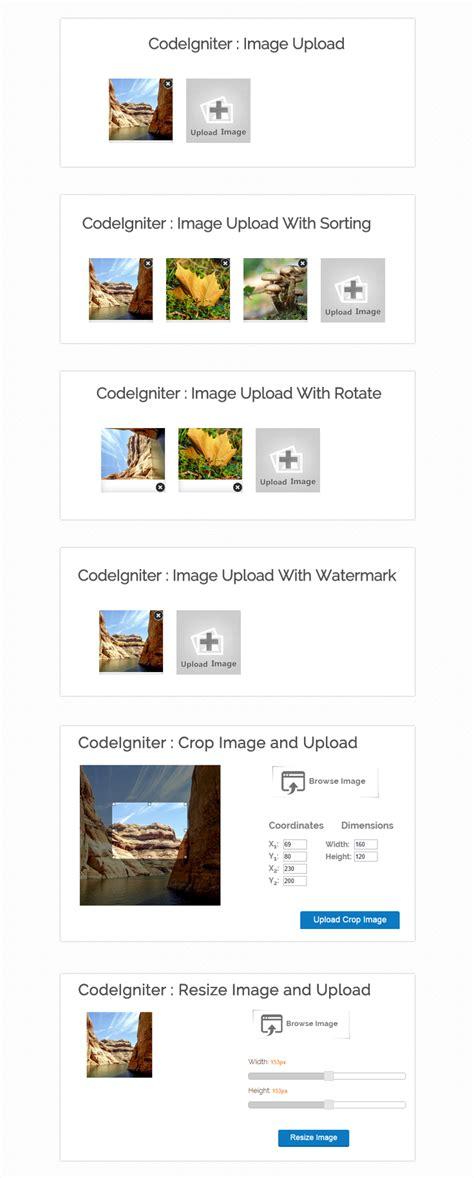 codeigniter tutorial upload image codeigniter ajax image upload formget