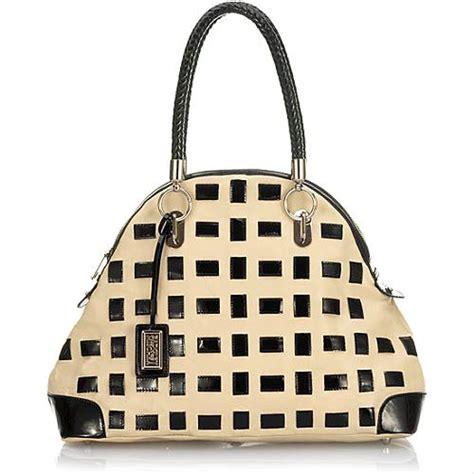 Badgley Mischka Dome Satchel by Badgley Mischka Silvana Patent Domed Satchel Handbag