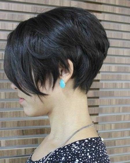 pixie stacked haircuts short layered hairstyles