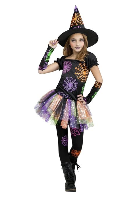 Halloween Costumes | wild witch child costume