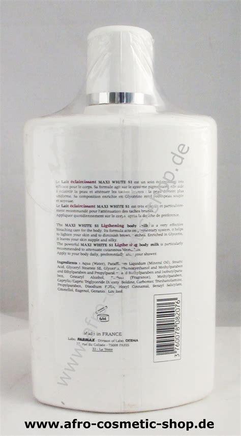Maxi White maxi white s1 lightening milk afro cosmetic shop
