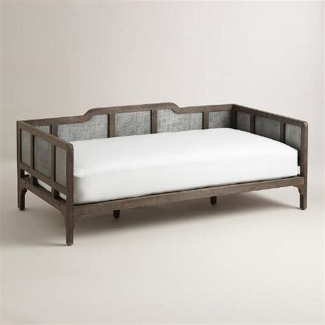 World Market Daybed Embossed Metal And Wood Liza Daybed World Market