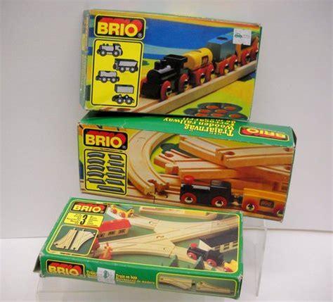 vintage brio train set brio vintage wooden railway railroad train sets train cars