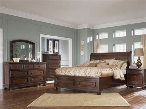 porter bedroom shore sleigh bed by millennium furniture porter bedroom set photo sets