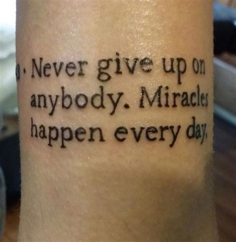 tattoo lettering never give up jennie tattoos askideas com