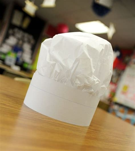 How To Make A Chef Hat With Paper - 13 how to make a paper hat tutorials tip junkie