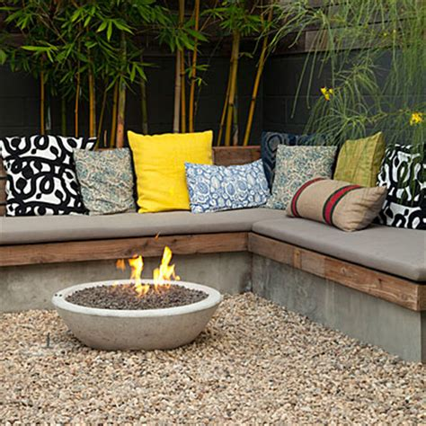 Patio Ideas Sunset Magazine Built In Warmth Pit Ideas For Pits Sunset