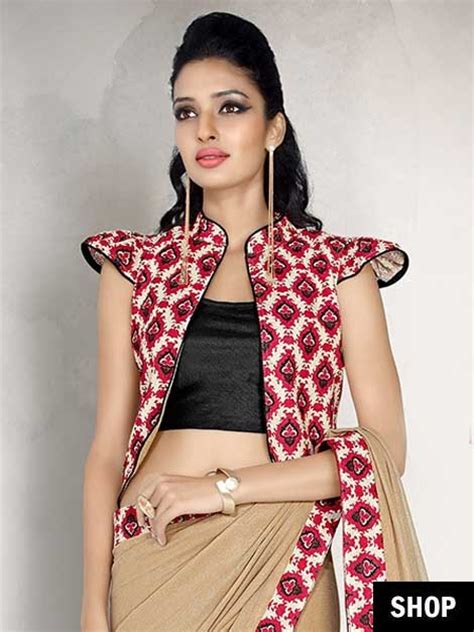 design jacket blouse saree blouse designs to inspire your everyday style the