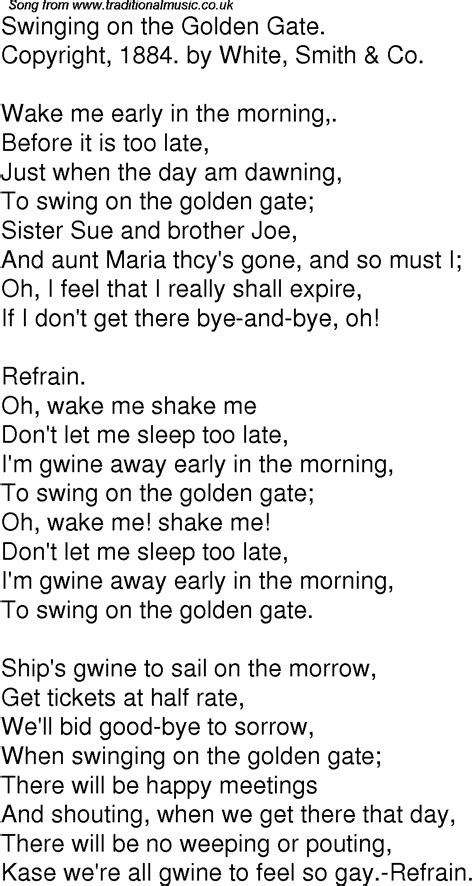 swinging song lyrics the trapeze swinger lyrics