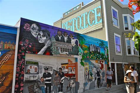 House Wall Murals deston nokes mural tours in san francisco through an