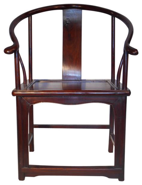 stuhl orientalisch monk chair with ox horn back asian dining