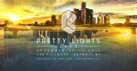 pretty lights nye tickets pretty lights detroit nye cid entertainment