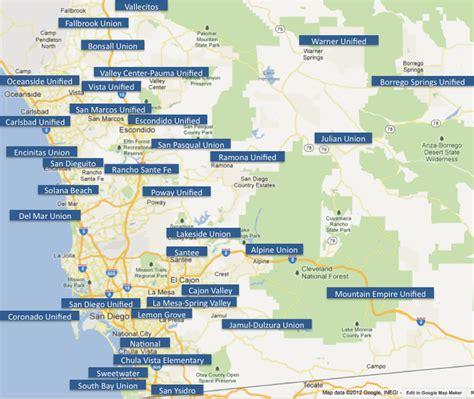 san jose school rating map san diego school rankings across the county