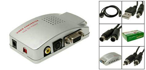 Harga Adapter Vga To Rca harga jual converter vga to rca