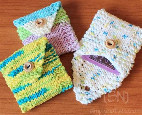 knitting pattern wallet free knit purse patterns catalog of patterns