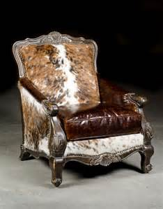 Cowhide Recliner Western Chair Cowhide Chair Anteks Home Furnishings