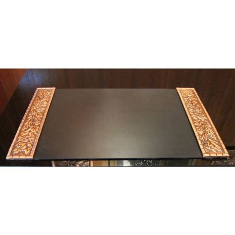 Small Desk Pad Sous Mains Che Ne Petit Small Oak Desk Pad Albertgilles Copper