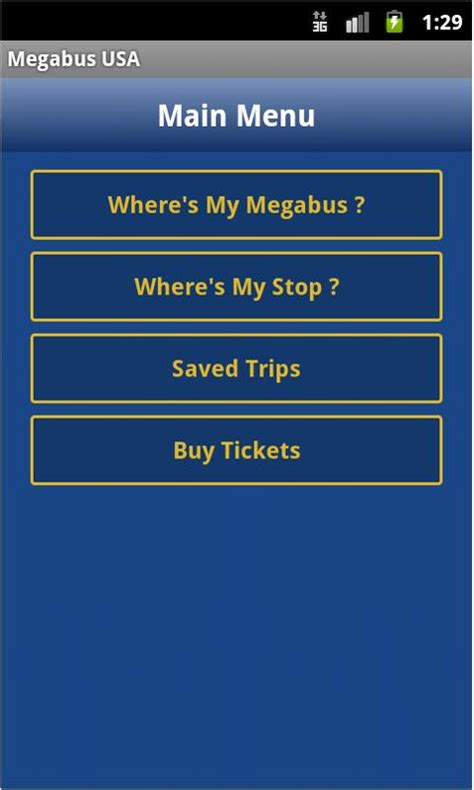 Megabus Gift Card - megabus usa android apps on google play