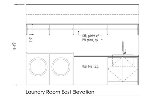 Standard Laundry Closet Dimensions by Mud Laundry Room Design Build