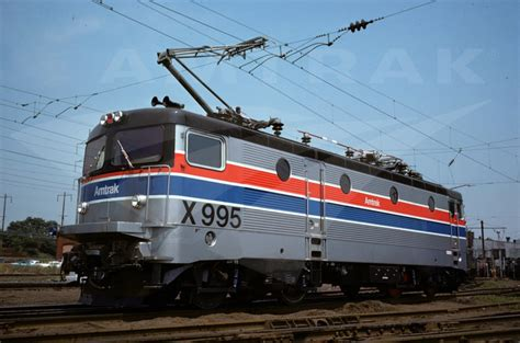 amtrak 1970 s amtrak x995 test locomotive late 1970s amtrak history