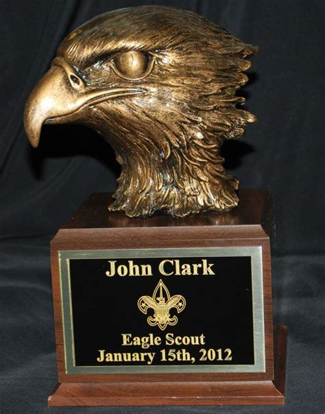 eagle scouts gifts large eagle scout gift with personalized engraved plate