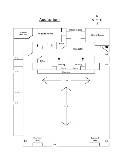 floor plan of auditorium auditorium medicine hat exhibition stede