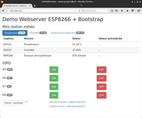 bootstrap themes ubuntu bootstrap web server esp8266 use the bootswatch themes