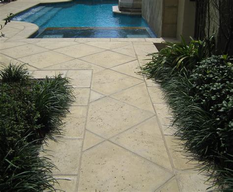 peacock pavers handcrafted concrete exterior pavers