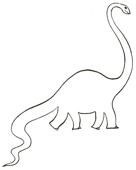 Drawing Dinosaurs by Easy Dinosaur Drawing